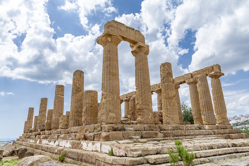 ruine grecque
